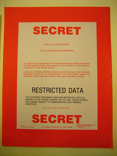 Classified Cover Sheets, Then and Now   Restricted Data