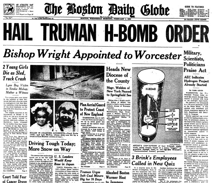 harry truman justified atomic bomb Decision to drop the bomb in recent years historians and policy analysts have questioned president truman's decision to use the atomic bomb against japan for president truman, the decision was a clear-cut one.