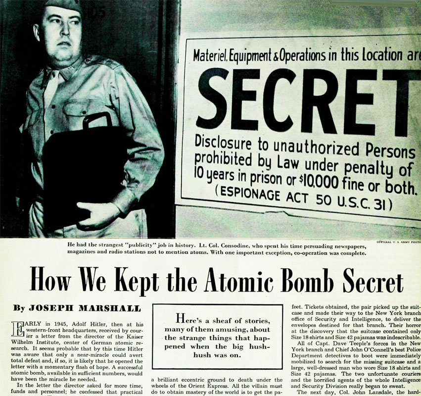 atomic bomb project The atomic bombing of hiroshima (hiroshima the manhattan project: making the atomic bomb (doe/ma c jones, manhattan: the army and the atomic bomb.