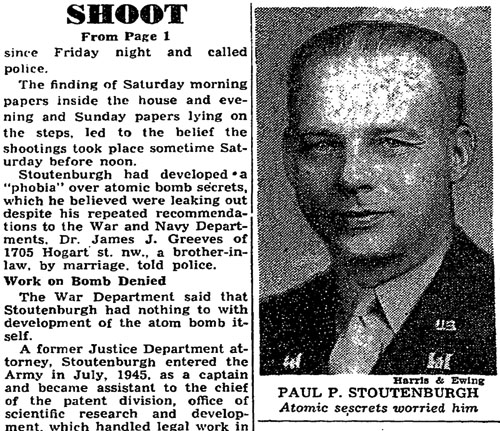 1946 - Washington Post - Stoutenburgh detail