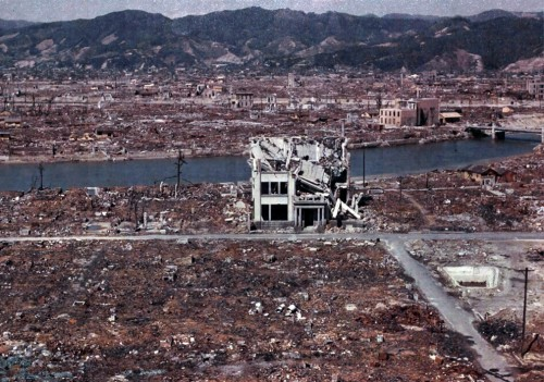 Hiroshima in color, March 1946