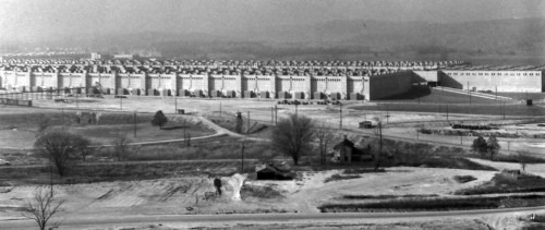 The K-25 gaseous diffusion plant: the single largest and most expensive Manhattan Project site.
