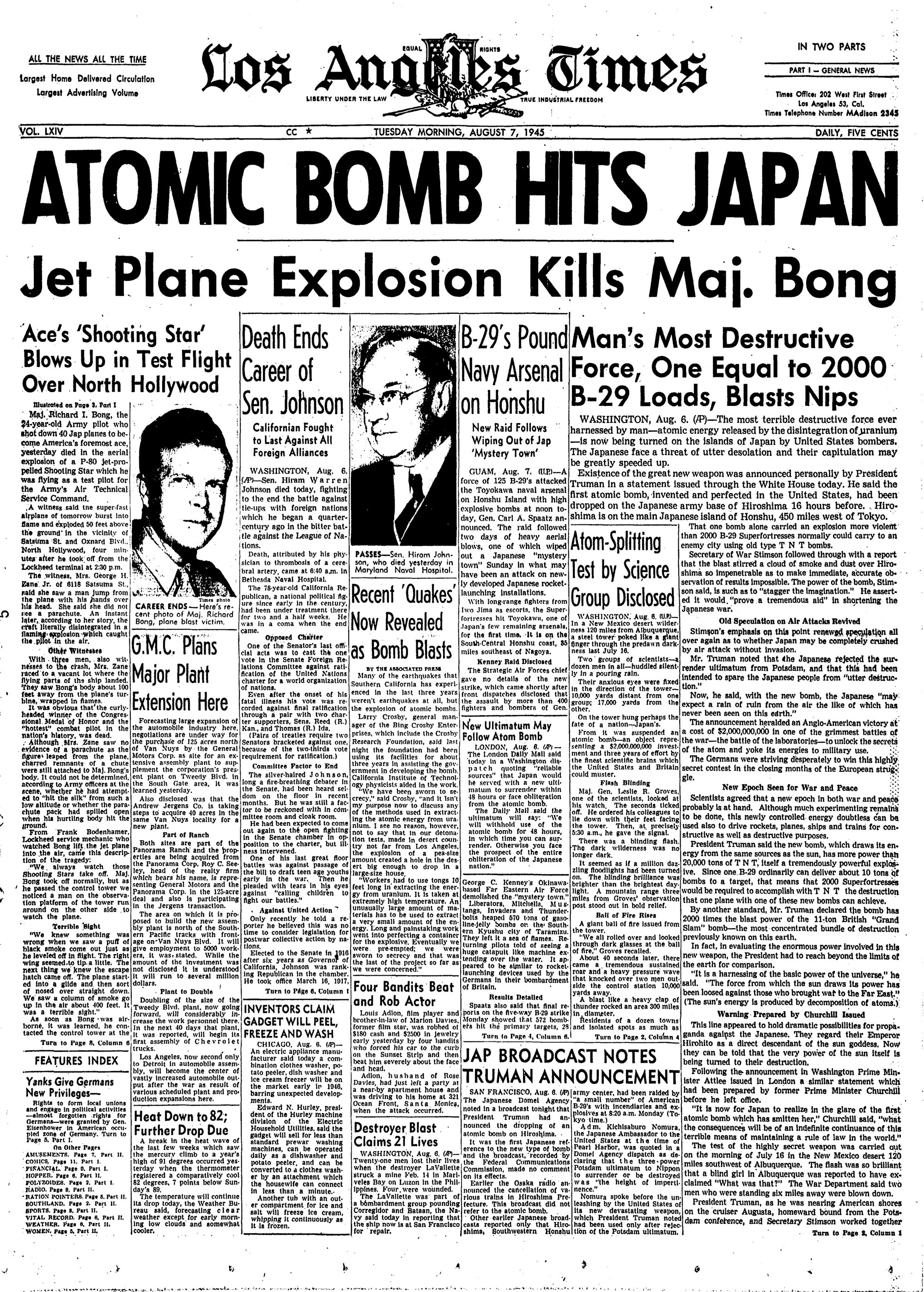 http://blog.nuclearsecrecy.com/wp-content/uploads/2013/08/1945-08-07-Los-Angeles-Times-front-page.jpg