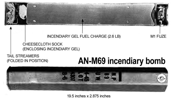 AN-M69 incendiary bomb