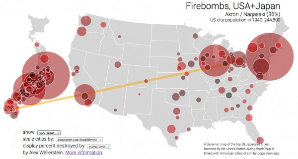 Firebombs, USA, interactive