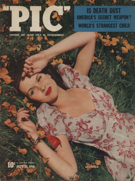 PIC magazine 1941 - Campbell - Death Dust - cover
