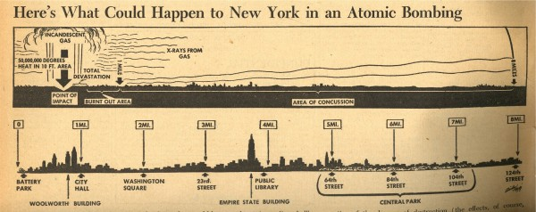 PM - NYC atomic bomb - August 1945