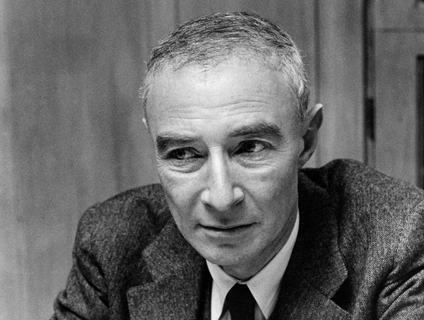 J. Robert Oppenheimer, from the Emilio Segrè Visual Archives.