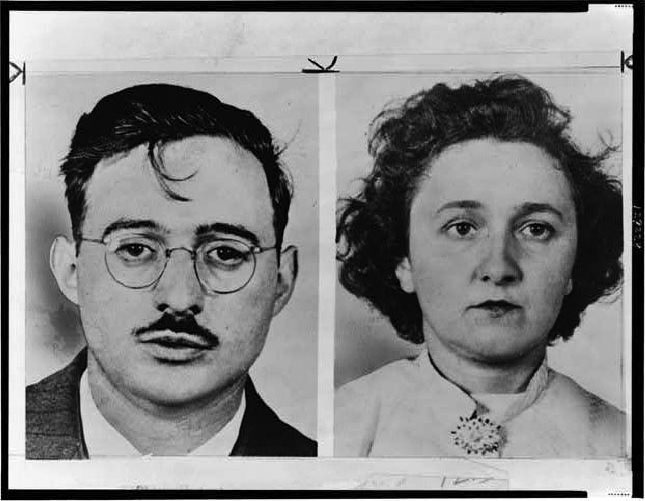Image result for Photo of the Rosenbergs
