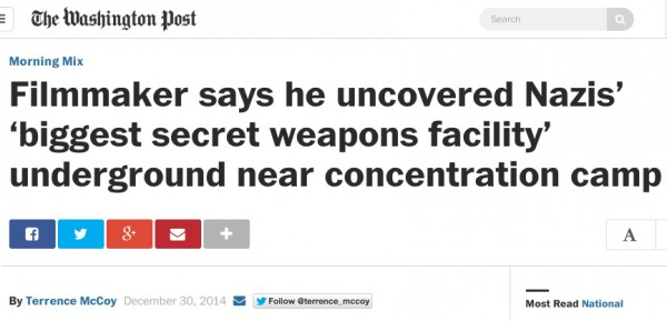 "At least the Washington Post hedged the headline a bit, ""says he uncovered."" Still misleading, but makes the factual basis a little more clear."