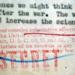 Espionage Act secrecy stamp (photograph by Alex Wellerstein)