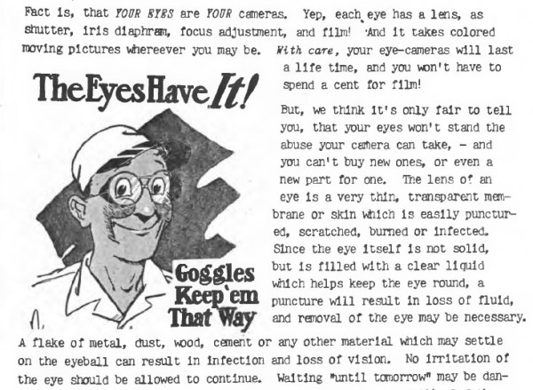 Excerpt from a guide produced by the Oak Ridge Safety program.