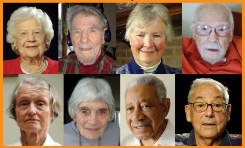 Several of the still-living Manhattan Project veterans/