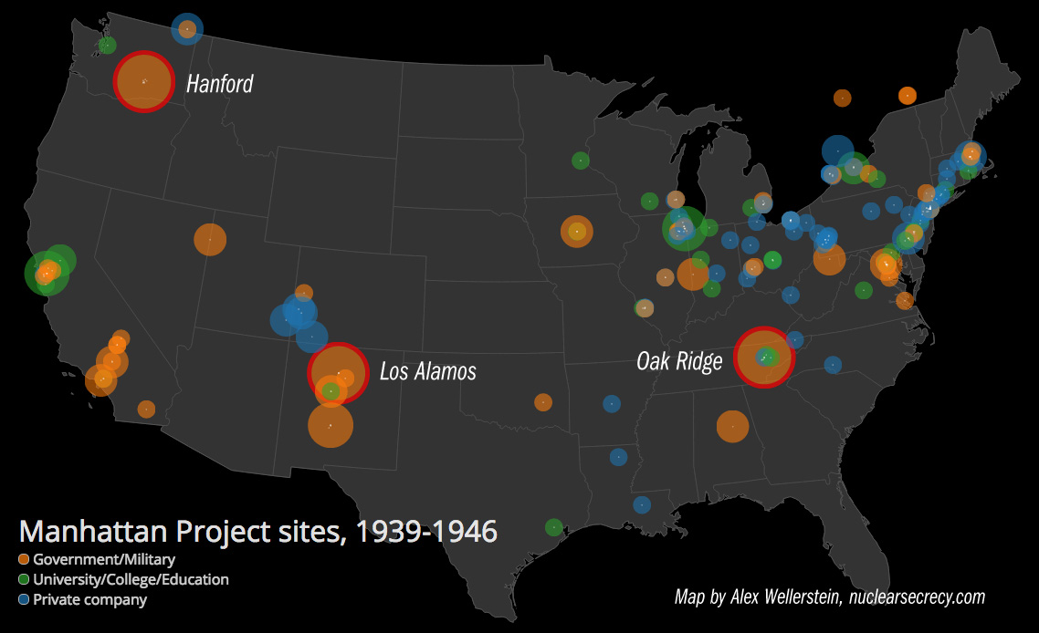 posts tagged los alamos restricted data a preview of my forthcoming manhattan project sites map size is a subjective prominence