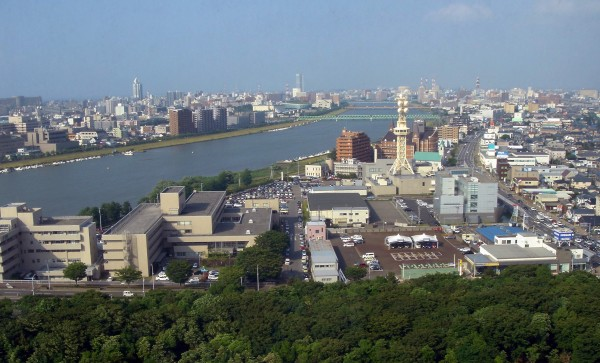 Niigata city today. Source: Wikimedia Commons.