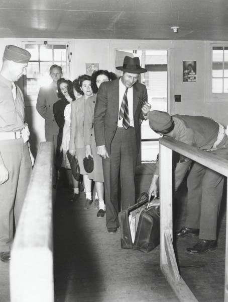"""""""Security theater"""" at Los Alamos— lots of effort made, but no spies were caught this way. Source: LANL."""