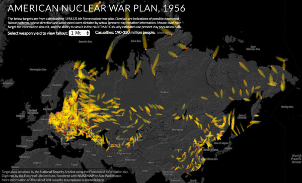 Screenshot of my interactive viewer for the nuclear war plan. Click to view.