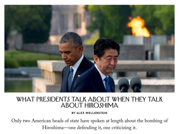 What Presidents Talk About When the Talk About Hiroshima - Screenshot