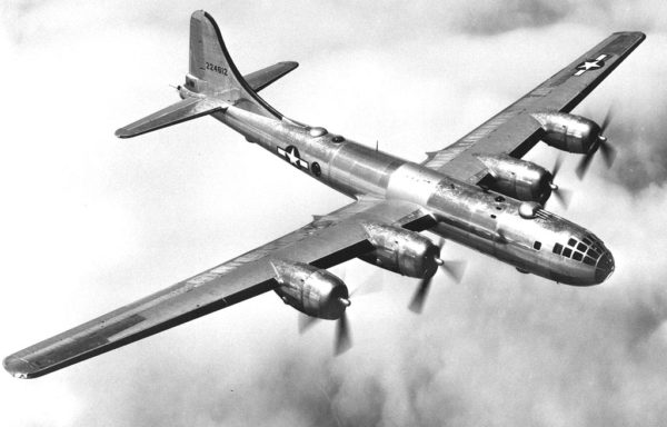 The B-29's power was more than military — it became a symbol of a new form of warfare for the generals of the newly-constituted US Air Force. Source.