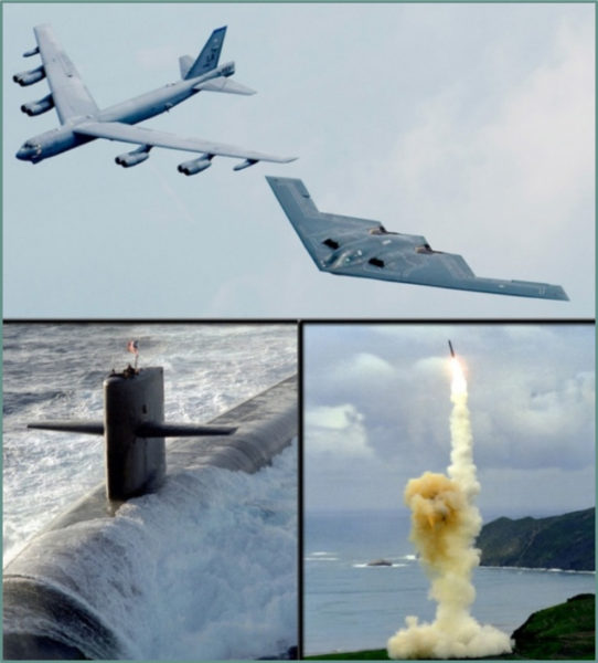 The modern nuclear triad. Source: Nuclear Posture Review, 2010.