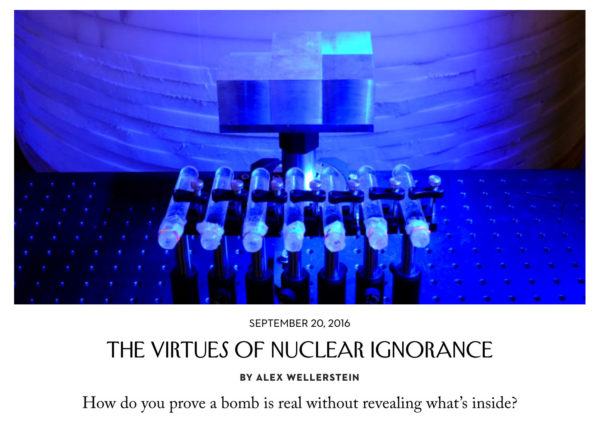 Virtues of Nuclear Ignorance