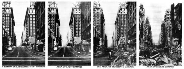 "For me, the ""holy grail"" would be something that would let you see something like the Defense Civil Preparedness Agency made in 1973: a ""personalized"" view of what different damage looked like, from the street level. The technology for this isn't quite here yet, but it's not that far away, either."