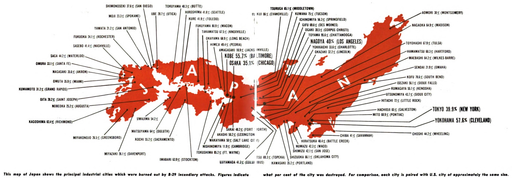Nagasaki Was Bombed 68 Years Ago Today Why Does There Seem To Be This Diagram Http Enacademicru Pictures Enwiki 6 Ing01png Blognuclearsecrecycom Wp Content Uploads 2013 04 1945 Arnold Map Bombing Of Japan